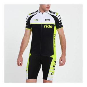 17K GLO Mens Cycling Jersey and Shorts Set