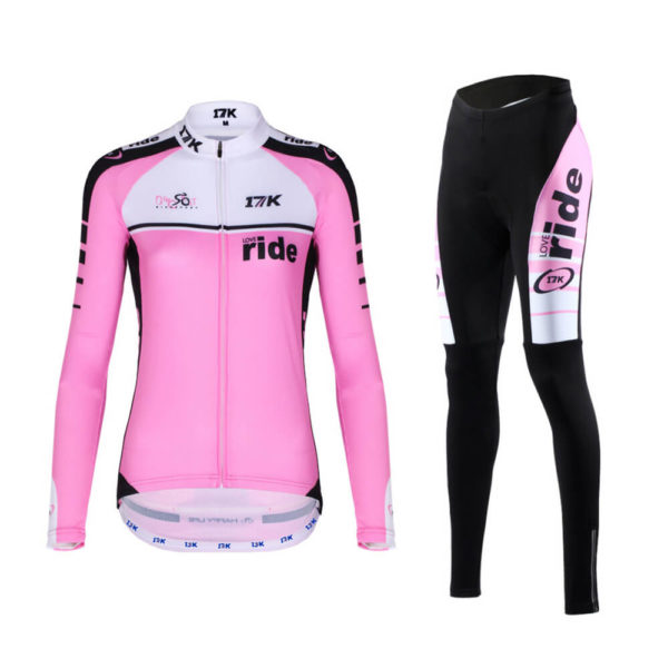 17K Ride Womens Long Sleeve Jersey and Tights