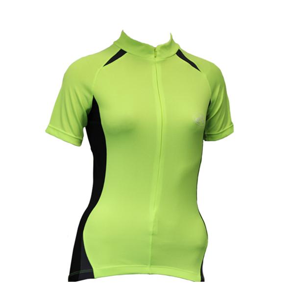 CC-UK Clima-Tek Hi-VIZ Ladies Short Sleeve Cycle Jersey