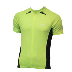 CC-UK 'Clima-Tek' HI VIZ Short Sleeve Cycle Jersey