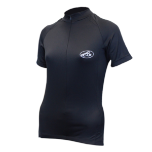 CC-UK Clima-Tek Noir Ladies Short Sleeve Cycle Jersey