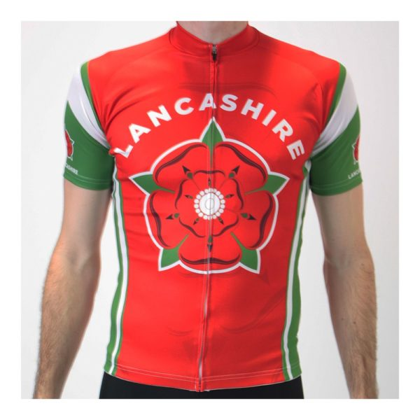 CC-UK Lancashire Mens Short Sleeve Cycling Jersey
