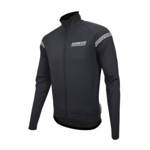 DRV Noir Wind and Water Resistant Cycling Jacket