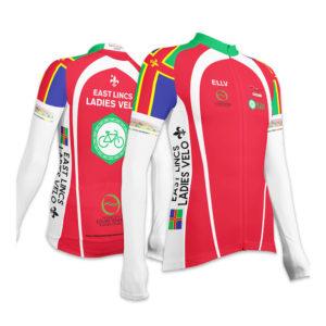 East Lincs Ladies Long Sleeve Club Cut Cycling Jersey