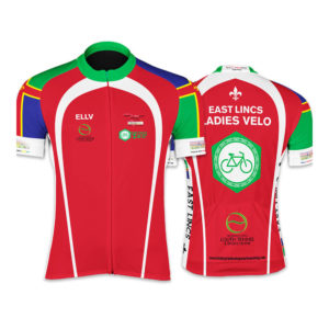 East Lincs Ladies Short Sleeve Cycling Jersey