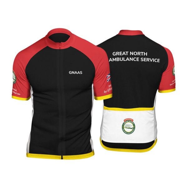 GNAAS Club Cut Mens Short Sleeve Cycling Jersey
