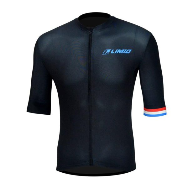 LIMIO Netherlands Mens Pro-level Race Cut Short Sleeve Cycle Jersey