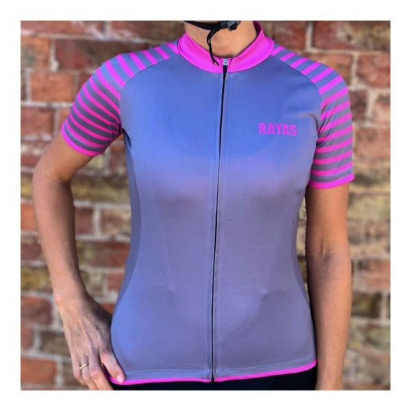 RAYAS Ladies Short Sleeve Cycling Jersey