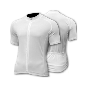 SPEG Blanc Short Sleeve Cycling Jersey