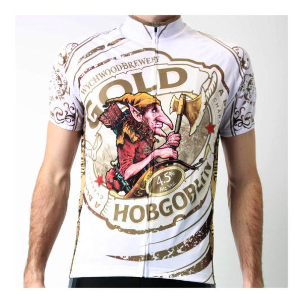 SPEG Hobgoblin Gold Short Sleeve Cycling Jersey