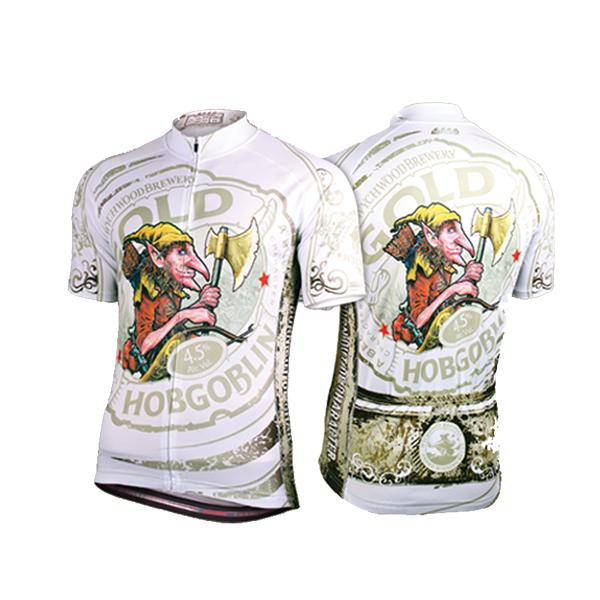 SPEG Hobgoblin Gold Womens Short Sleeve Cycling Jersey