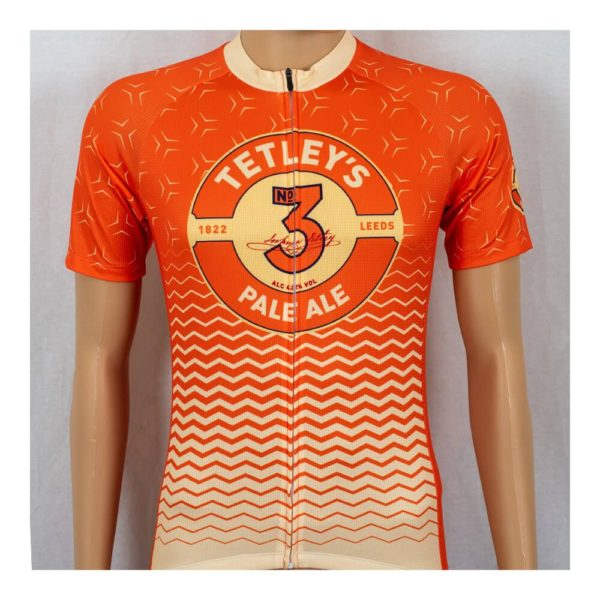 Tetley's Pale Ale Mens Short Sleeve Cycling Jersey