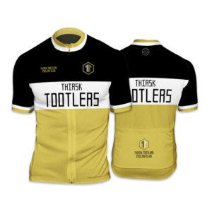 Thirsk Tootlers Club Cut Mens Short Sleeve Cycling Jersey