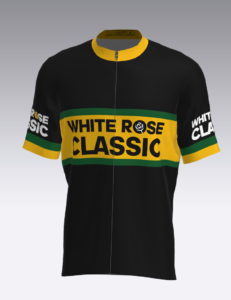 White Rose Classic Mens Club Cut Short Sleeve Cycling Jersey