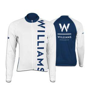 Williams Womens Long Sleeve Club Cut Cycling Jersey