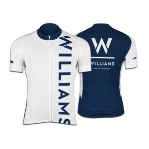 Williams Womens Pro Short Sleeve Race Cut Cycling Jersey