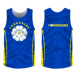 Yorkshire rose running vest