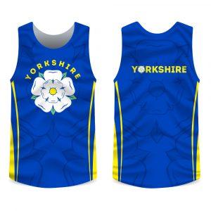 Yorkshire rose running vest
