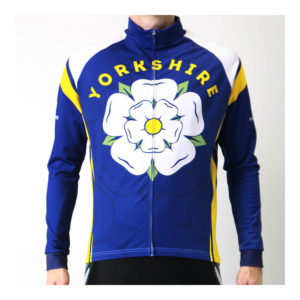 Yorkshire BLIZZARD Winter Water Resistant Cycling Jersey