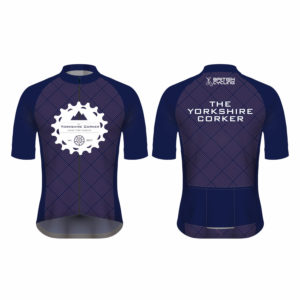 Yorkshire Corker Mens Club Cut Short Sleeve Cycling Jersey