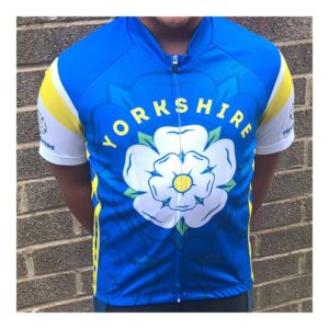 Yorkshire Kids Short Sleeve Cycling Jersey