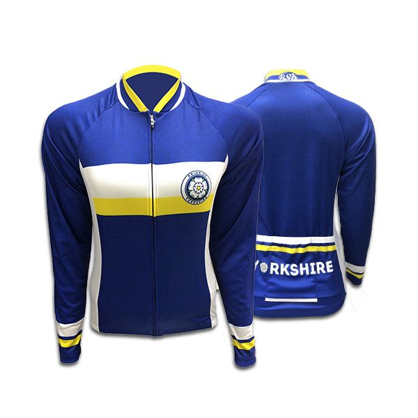 Yorkshire Ladies Long Sleeve Cycling Jersey