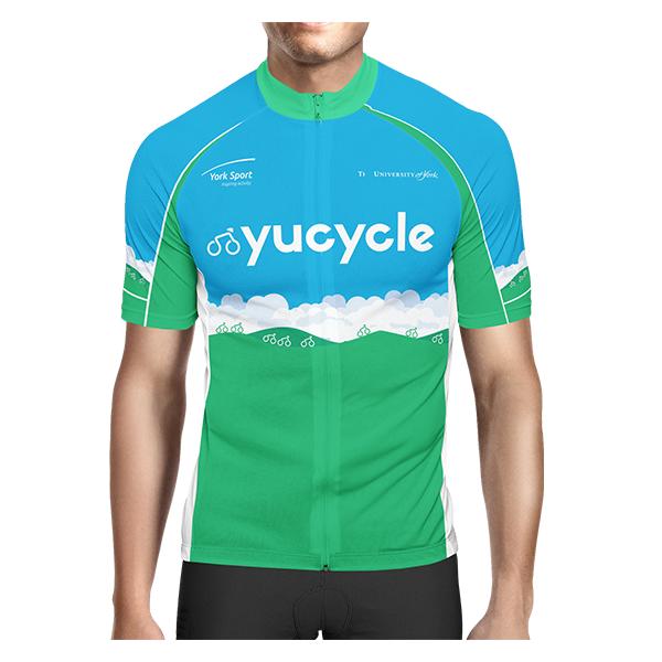Yu Cycle - University Of York Mens Cycle Jersey