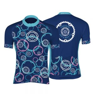 Yorkshire Cogs and Roses CC Unisex Short Sleeve Cycling Jersey