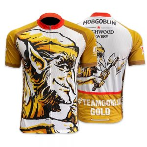 New Official Hobgoblin Gold Beer Cycling Jersey