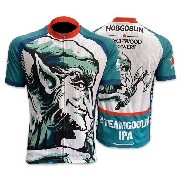 New Official Hobgoblin IPA Beer Cycling Jersey