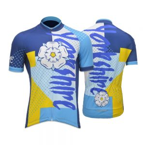 Yorkshire Funk Mens Short Sleeve Cycling Jersey