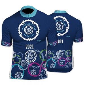 Yorkshiree Lass Sportive Unisex Short Sleeve Cycling Jersey