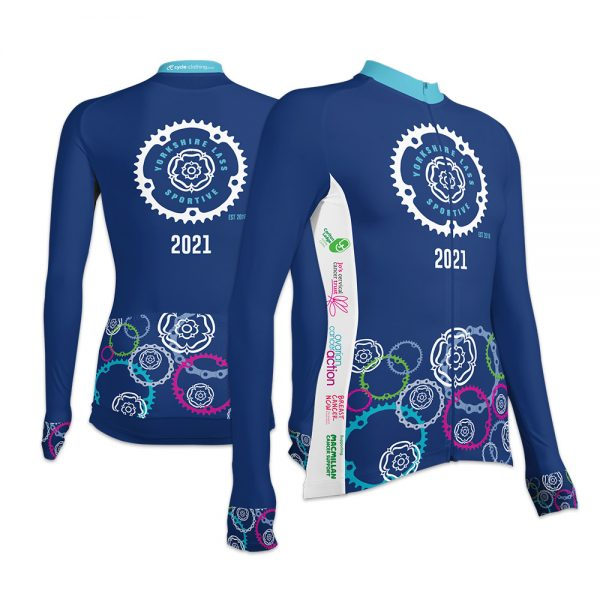 Yorkshire Lass Sportive Ladies Long Sleeve Cycling Jersey