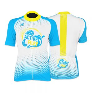 Active Filey Kids Short Sleeve Cycling Jersey
