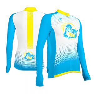 Active Filey Ladies Long Sleeve Cycling Jersey