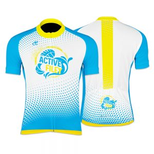 Active Filey Womens Short Sleeve Cycling Jersey