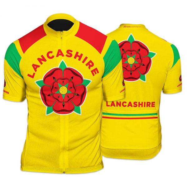 Lancashire Mens Cycling Jersey