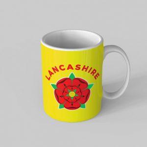 Lancashire Rose Mug