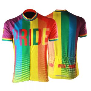 Pride Mens Short Sleeve Cycling Jersey
