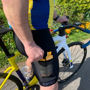 RAYAS Noir-S Cycling Bib Shorts
