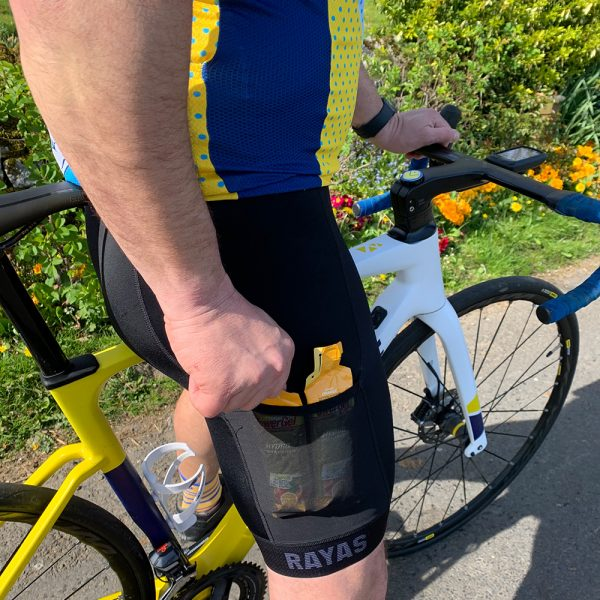 RAYAS Noir-S Cycling Bib Shorts