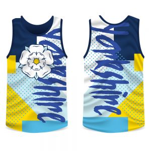 Yorkshire Rose Funk Running Vest