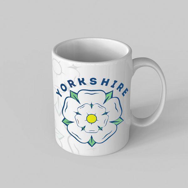 Yorkshire Rose Mug