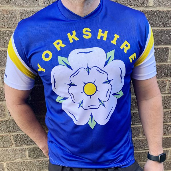 Yorkshire Rose Mens / Unisex Running T-shirt