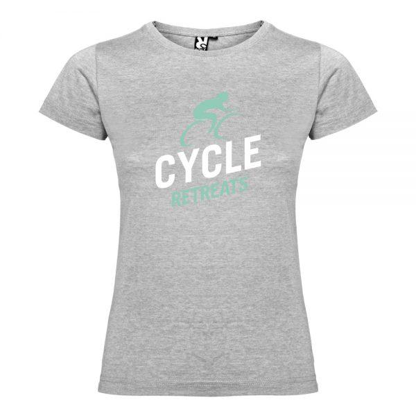 Cycle Retreats Womens T-shirt