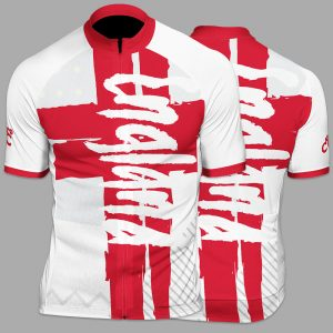 England Funk Mens Short Sleeve Cycling Jersey
