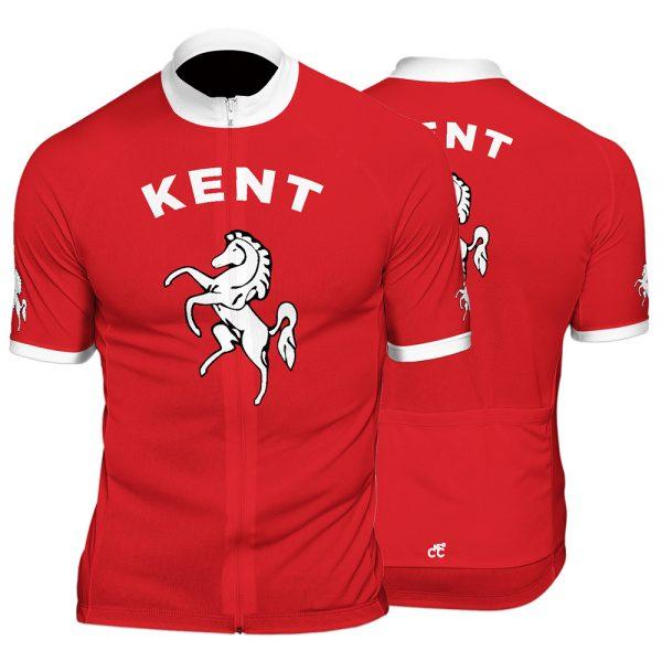 Kent County Mens Short Sleeve Cycling Jersey