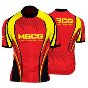 MSCG Mens Short Sleeve Cycling Jersey