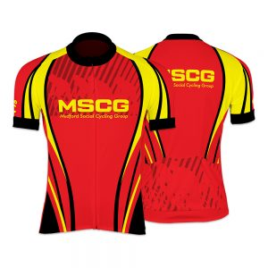 MSCG Ladies Short Sleeve Cycling Jersey