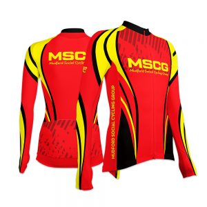 MSCG Ladies Long Sleeve Cycling Jersey